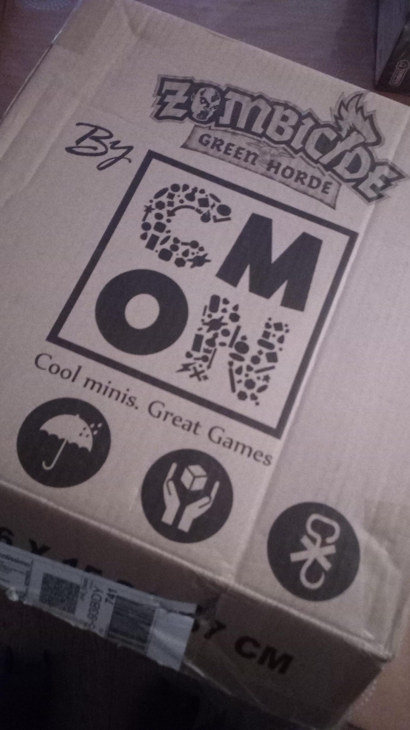 Carton KS de Zombicide Green Horde